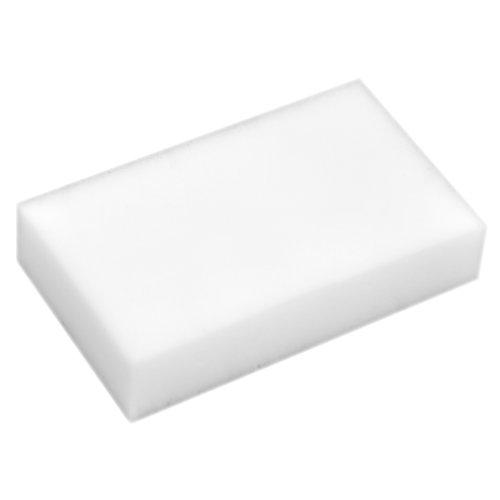 TRIXES 30 Stück Wunder-Reinigungsschwamm, Wunder-Schmutzradierer, Fleckenentferner-Pad, Eco, Weiß