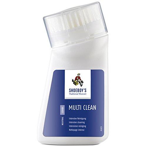 Shoeboy's Multi Clean – intensiver Reiniger für Leder und Textilien, mit Zitronenöl, 1er Pack (1 x 75 ml)
