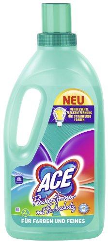 Ace Fleckentferner mit Farbschutz Flüssig, 2er Pack (2 x 2 l)