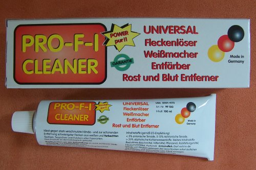 Pro-f-i Cleaner Fleckenlöser 100ml Creme bekannt aus QVC